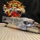 cigar cutter  custom made eagle head design new in the original tube