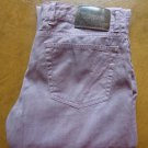 ZZegna Men's Slim Fit light purple  designer jeans