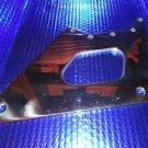 Marine Machine Mercury 2.5 EFI  Stainless Stell Polished Steering Wing Plate