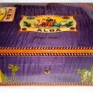 Elie Bleu Flor de Alba Purple  Humidor 75 Ct new in the original box