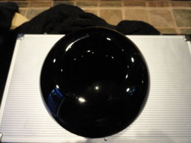 mario cioni black crystal  bowl