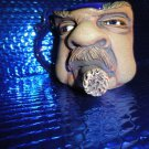 coffee mug cigar smoking man new without the box # 005