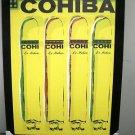 Cohiba Print on Canvass & Mounted on Black