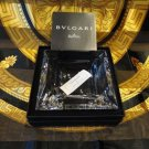 """Bvlgari Crystal Ashtray by Rosenthal measures 5.5"""" x 5.5"""" square opened box"""