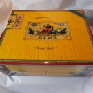 Elie Bleu Flor de Alba Yellow Sycamore  Humidor 75 Ct new in the original box
