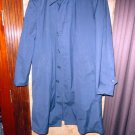 London Fog Navy Blue Trench Coat preowned good condition