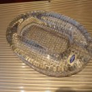 Comoy's of London Crystal Cigar Ashtray made in Italy comes without box
