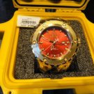 invicta model no. 80591 with yellow invicta watch box watertight case