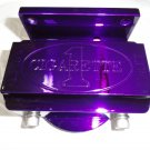 Marine Machine fuel filter assembly in purple powder coat  NIB