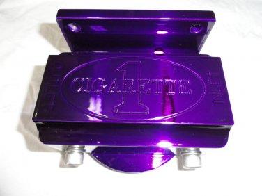Marine Machine fuel filter assembly in purple powder coat  NIB