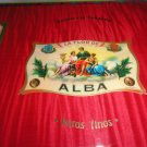 Elie Bleu Flor de Alba Red Humidor 300 Count NIB Made in France