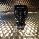 Faberge Na Zdorvye Galaxy Black Vodka Shot Glass etched by Faberge