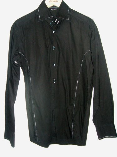 Rawyalty mens medium casual designer dress shirt
