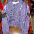 Spyder Active Sports Ski Jacket USA Large in Purples preowned Good condition