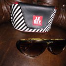 J.F. REY eyewear design Sunglasses with the original case pre-owned