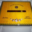 Elie Bleu Medals Gold Yellow Sycamore  Humidor 75  Count new in original box
