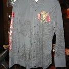 Rebel Spirit Men's Long Sleeve Shirt Medium  Royal Way of Life