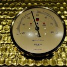 Elie Bleu Original Replacement Hygrometer 3.5 diameter Gold  finish