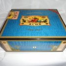 Elie Bleu Alba Blue  Humidor 75 Ct new in the original box