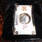 Fuente Opus X Limited Edition 20th Anniversary  White /  Gold Cigar Cutter
