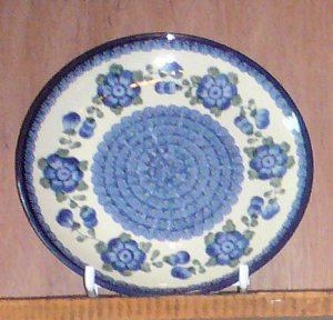 Polish Pottery Plate