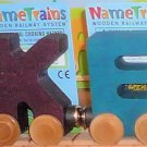 Name Train Wooden Letters
