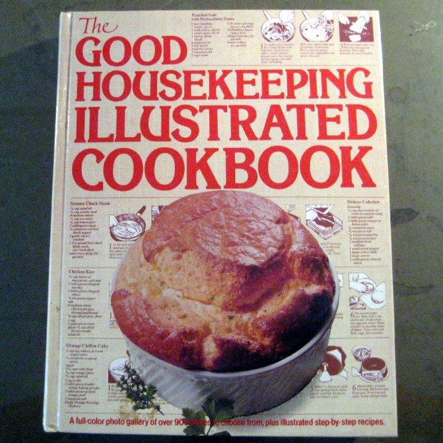 Good Housekeeping Illustrated Cookbook Recipes Hearst Books 1980