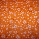 Innocent Crush -Tangerine  Cotton Fabric  from Free Spirit 1 yd