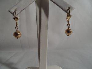 18 kt Gold Ball Drop Earrings