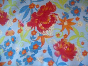 Happy Go Lucky NW-11  Cotton Fabric  from Free Spirit 1 yd