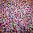 Flower Mart Primrose-Periwinkle  Cotton Fabric  from Benartex 1 yd