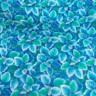 Flower Mart Tropical  Cotton Fabric  from Benartex 1  yd