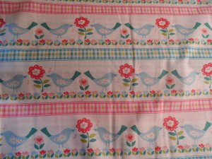 House and Home Cotton Fabric from Benartex 1 yd