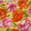 Flower Show 111-(04250)  Cotton Fabric  from Benartex 1/ 2 yd