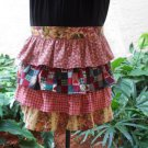 Womens Ruffled Half Aprons