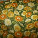 Flower Mart 11 (01261)  Cotton Fabric  from Benartex 1/ 2 yd