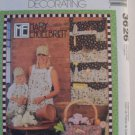 McCall's  Home Decor-  Apron,Organizer,Cap and Bag Pattern 3886- Uncut
