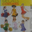 McCall's  Girl's Costumes Pattern 3349- New ,size  7 - 14