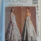 McCall's  Retro Collection Dress 1950's Pattern 2672- New ,size  4,6,8