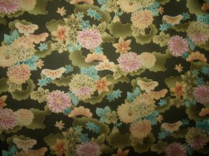 Memoirs of a Geisha (03529)   Cotton Fabric  from Benartex 1/ 2 yd