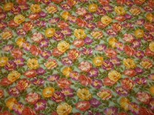 Blooming Colors (01273)  Cotton Fabric  from Benartex 1/ 2 yd