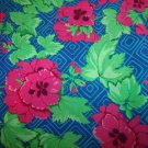 Cottage Garden Pelargonium JG11   Cotton Fabric  from Free Spirit 1/ 2 yd
