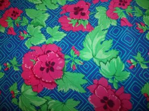 Cottage Garden Pelargonium JG11   Cotton Fabric  from Free Spirit 1/ 2 yd