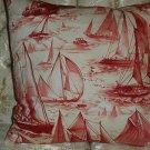 Handmade Ship design  Pillow Cover,Throw Covers, set of two,16 x 16