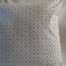 Handmade  White Floral Laura Ashley Fabric, Pillow Cover,Throw Covers,