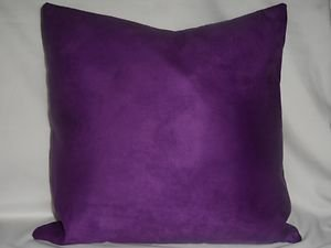 Handmade Decorative Micro Suede Pillow Covers ,18 x 18