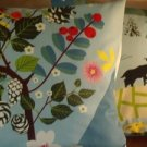 Handmade Decorative Blue Pictorial  Pillow Cover, 18 x 18,set of two