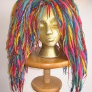 Rainbow Brite Wool Dread Falls