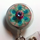 Bejeweled ID Badge Reel
