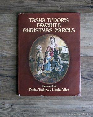Tasha Tudor's Favorite Christmas Carols - 1st Edition & Autographed